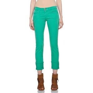 Current Elliot Green Skinny Jeans Size 25